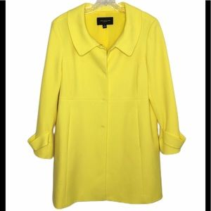 Ann Taylor Yellow Trench Coat
